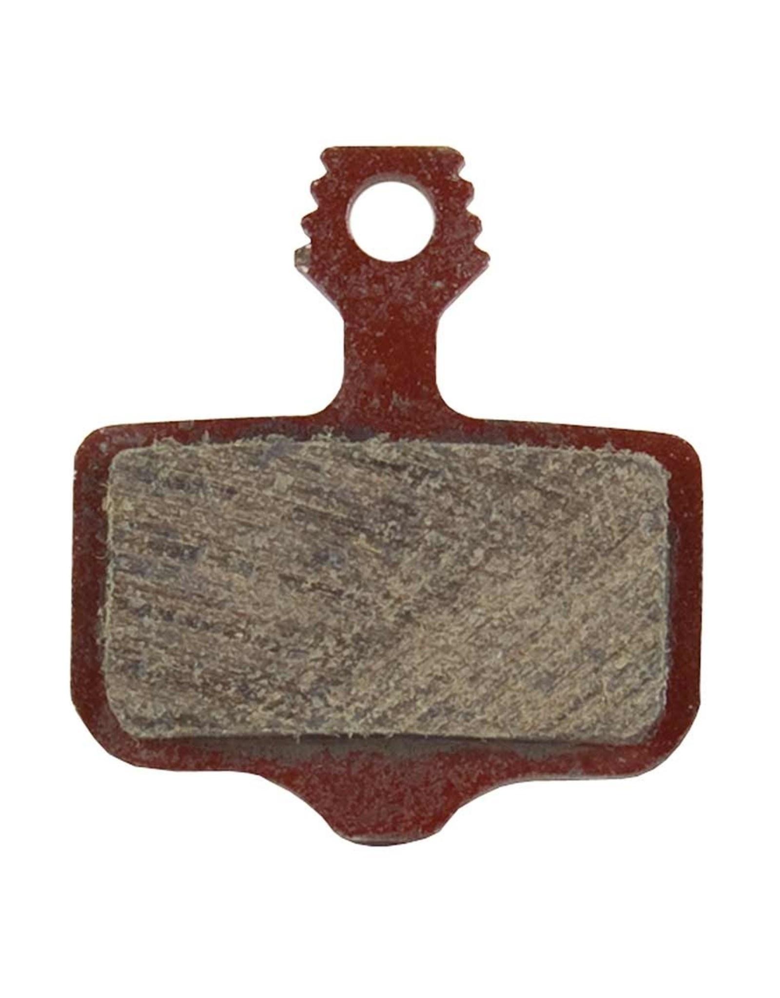 SRAM, 00.5315.035.020, Disc Brake Pads, Shape: Avid Elixir/SRAM Level/Force AXS HRD, Organic, Pair-1
