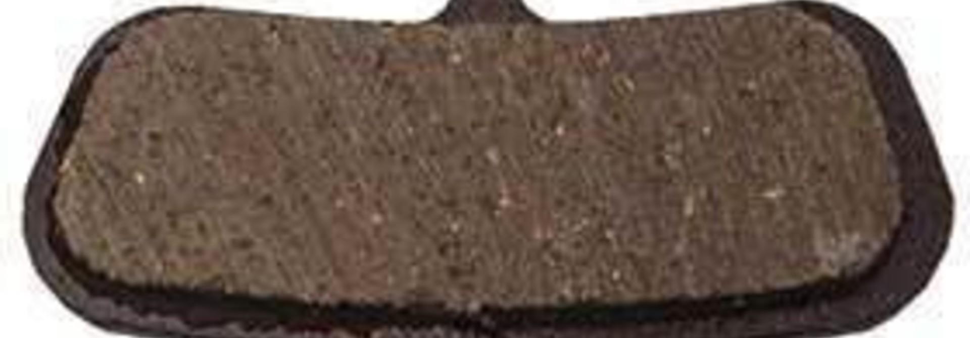 Avid, Code 2007-2010, Disc brake pads, Organic (Quiet), Steel back plate, pair