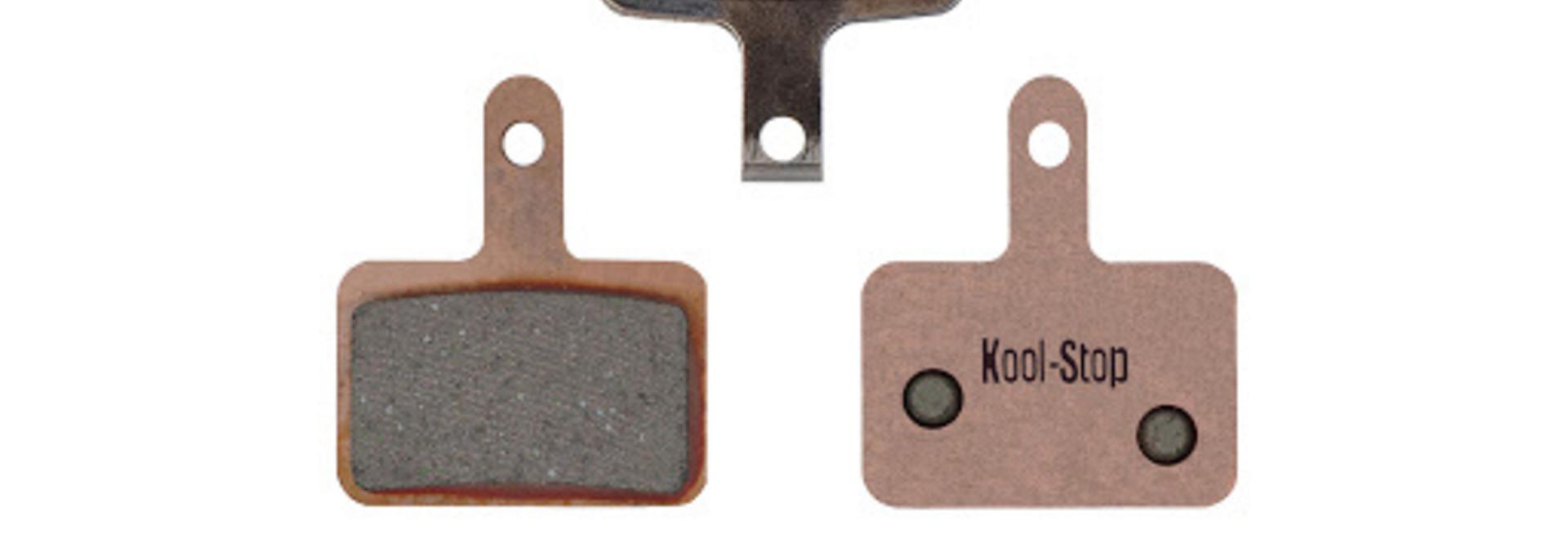 Kool-Stop Shimano Sintered M575/M495 Disc Brake Pads Copper Plate #KS-D620S