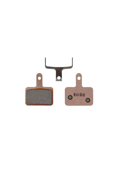 Kool-Stop Shimano Sintered M575/M495 Disc Brake Pads Copper Plate #KS-D620S