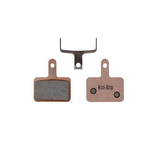 Kool-Stop Shimano Sintered M575/M495 Disc Brake Pads Copper Plate #KS-D620S-1