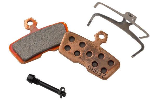 Avid, Code 2011+ Disc brake pads, Organic (Quiet), Aluminum back plate, pair-1