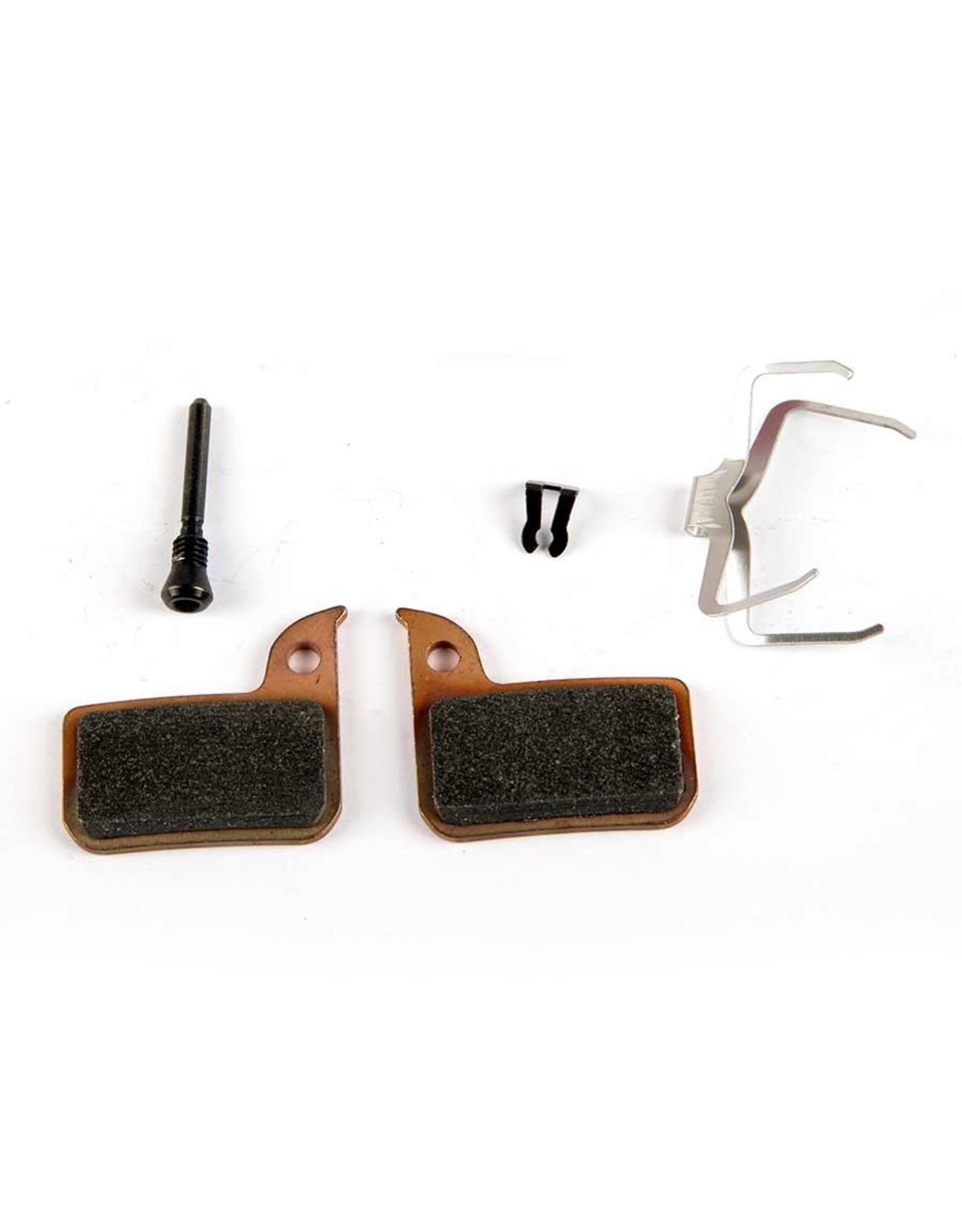 SRAM, Level TLM, Level Ultimate, HRD, Disc Brake Pads, Shape: SRAM HRD/Level TLM, Metallic, Pair-1