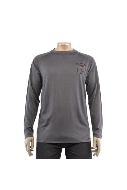 Chromag Apparel Veldt Wool LS Jersey Charcoal L