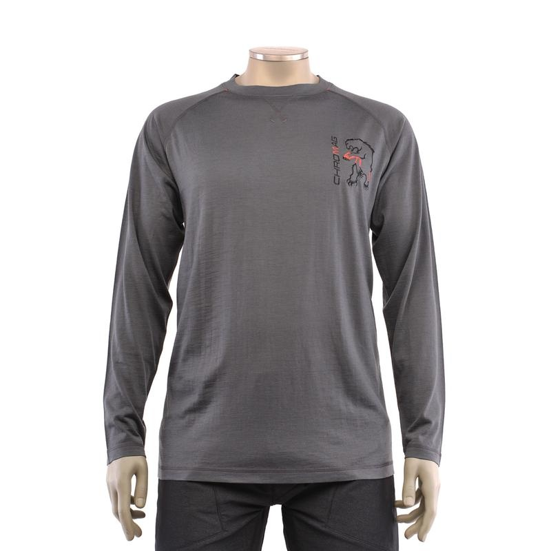 Chromag Apparel Veldt Wool LS Jersey Charcoal L-1