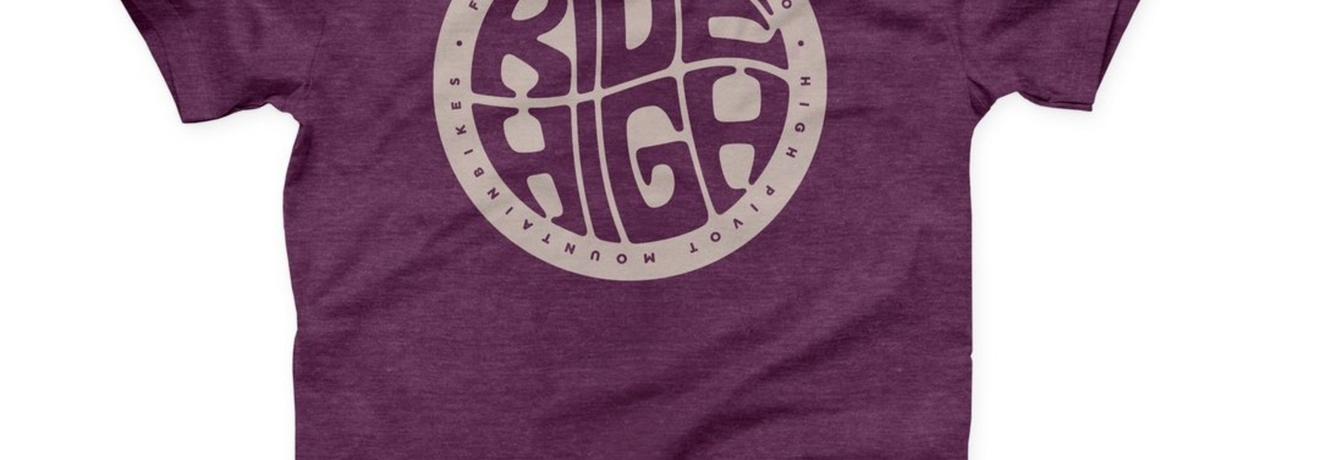 Forbidden Ride High Tee SS Medium - Plum