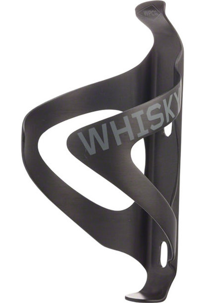 WHISKY No.9 C2 Carbon Water Bottle Cage UD: Matte Black