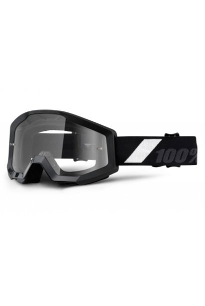 100% Strata Goggles / Clear lens