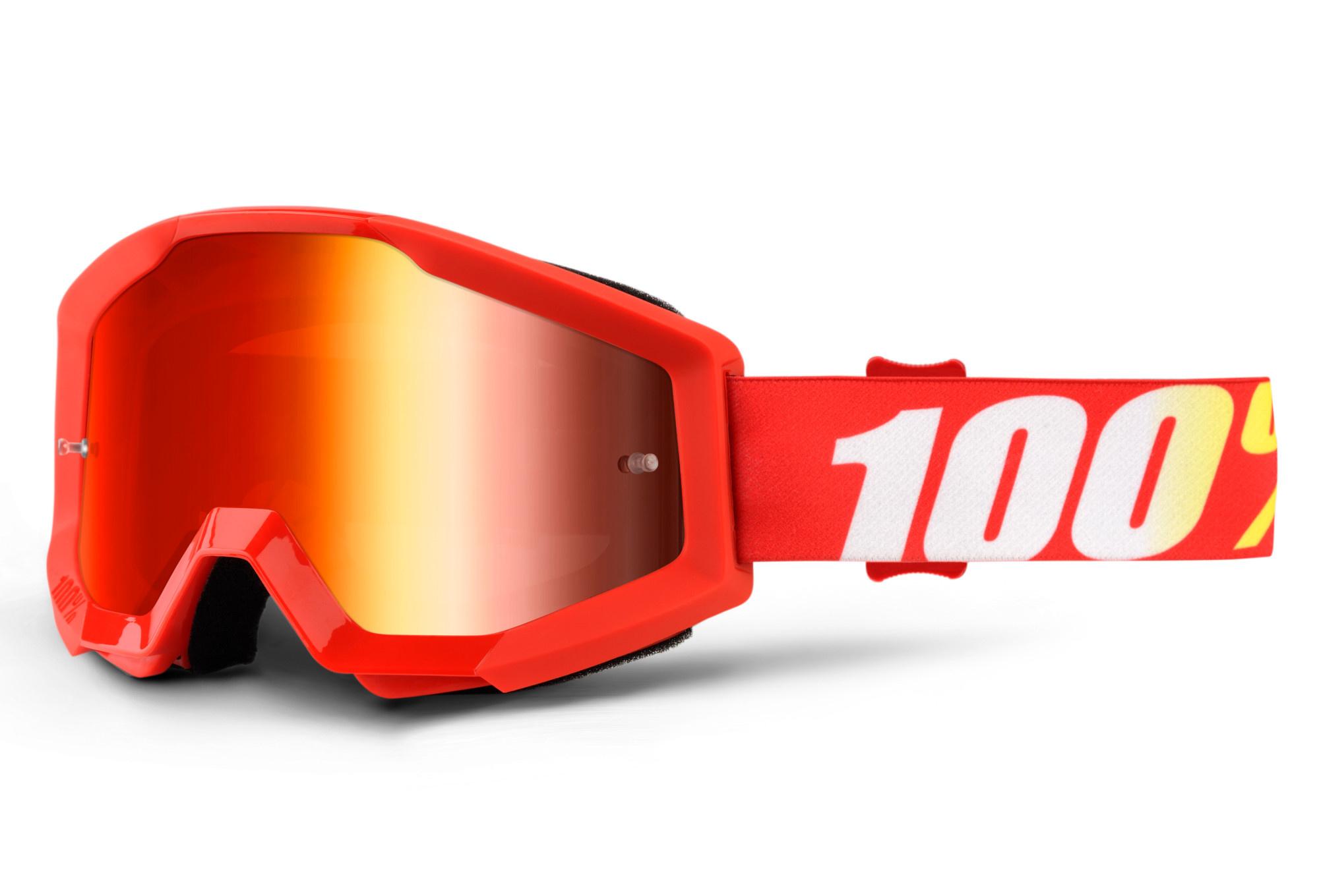 100% Strata Goggles / Mirror Lens-2