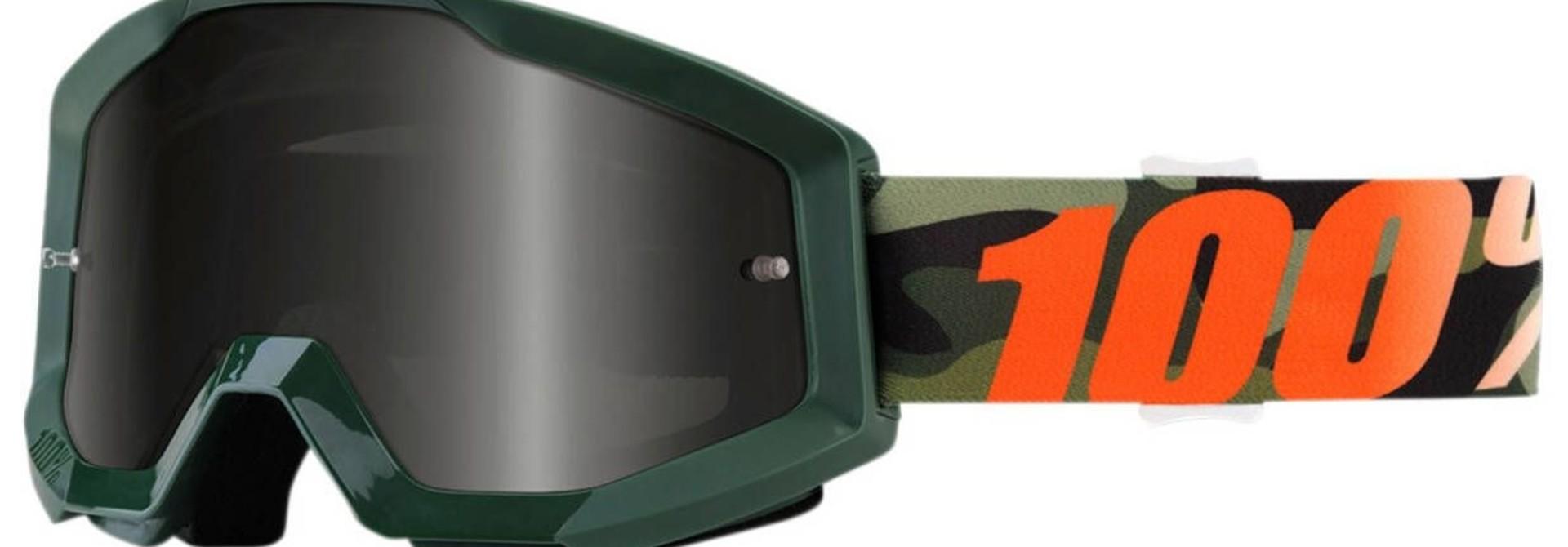 100% Strata Goggles / Mirror Lens