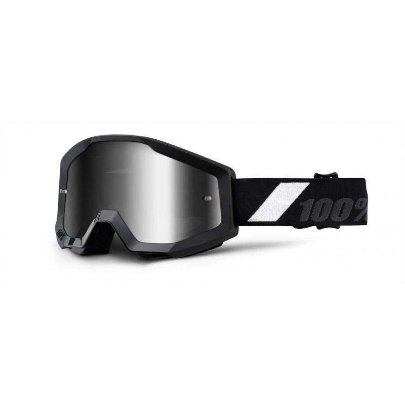 100% Strata Goggles / Mirror Lens-3