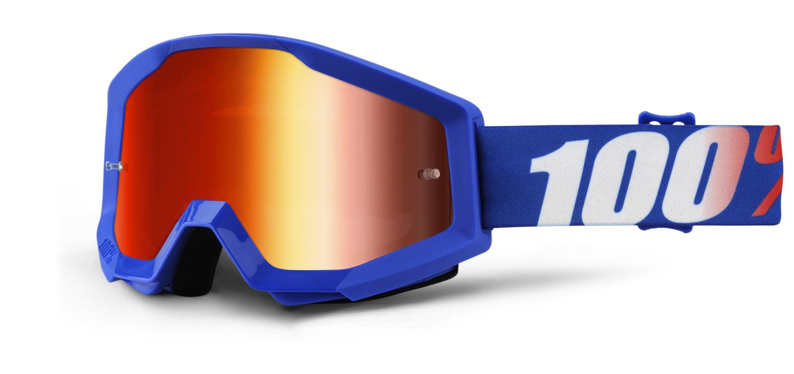 100% Strata Goggles / Mirror Lens-4