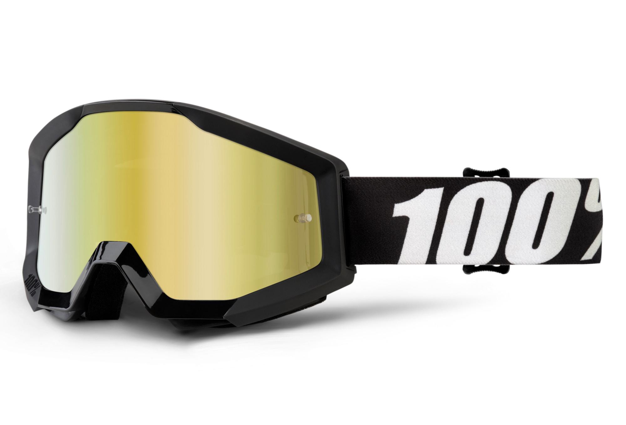100% Strata Goggles / Mirror Lens-5