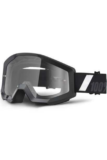 100% Strata Youth Goggles Goliath Clear Lens