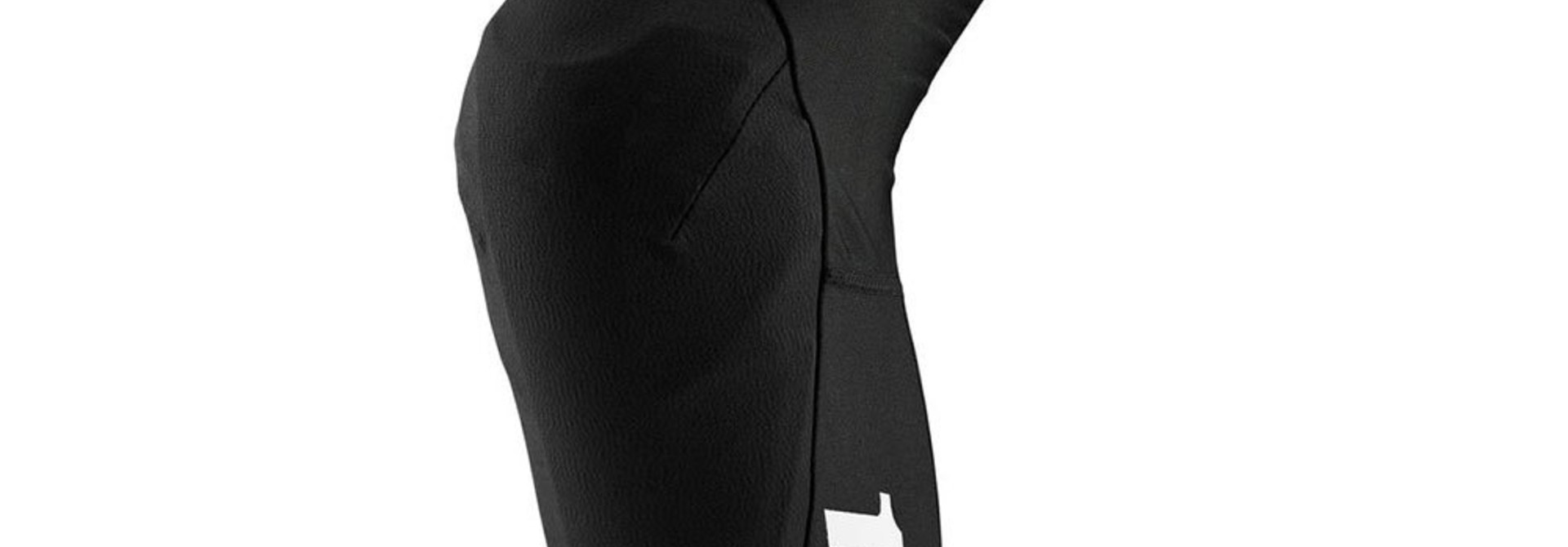 100% Teratec Soft Knee Pads/Armour, Black
