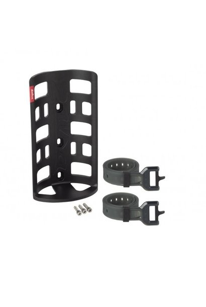 Salsa EXP Series Anything Cage HD with EXP Rubber Straps, Black