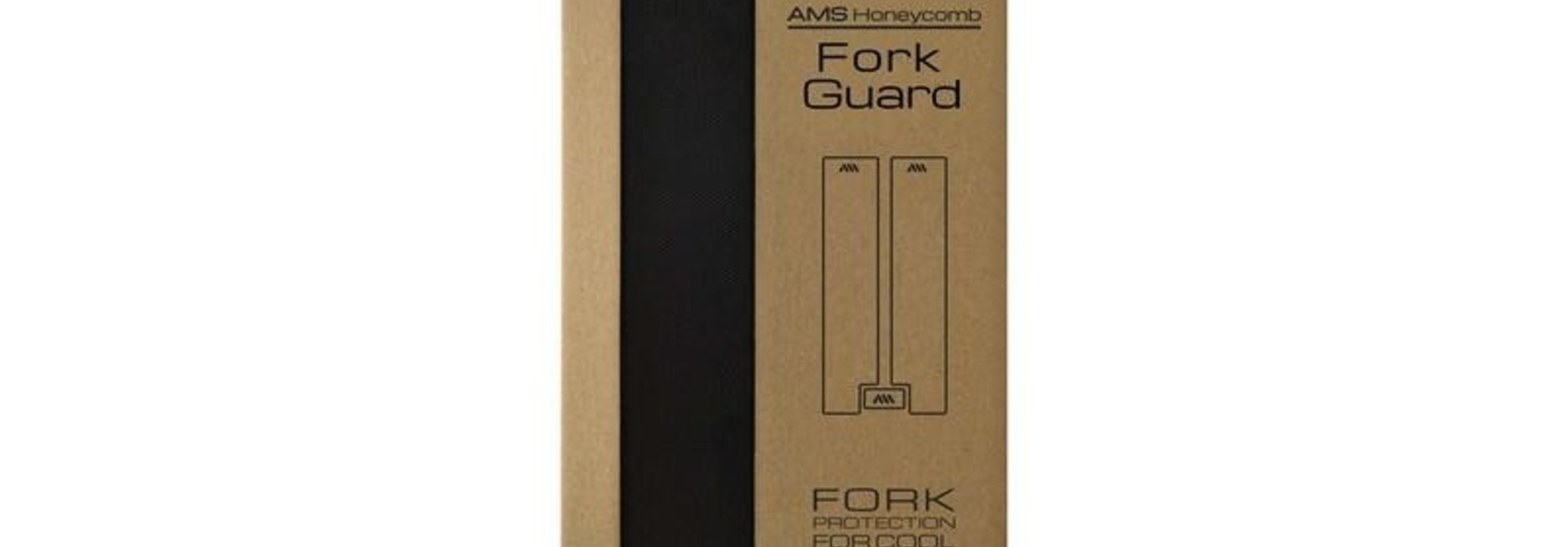 All Mountain Style FORK GUARD BLACK/SILVER