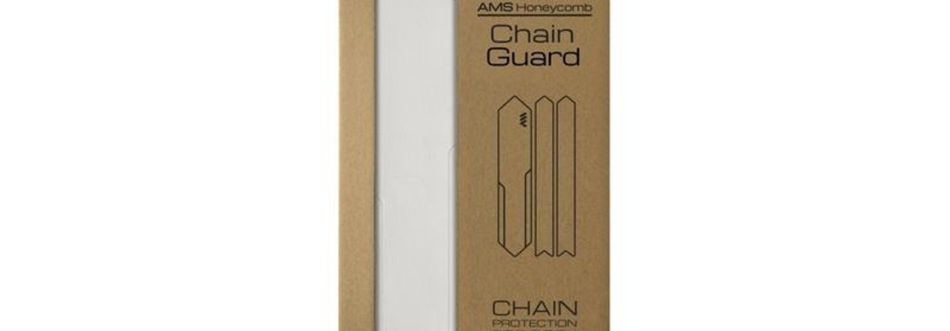 All Mountain Style CHAIN GUARD CLEAR/SILVER
