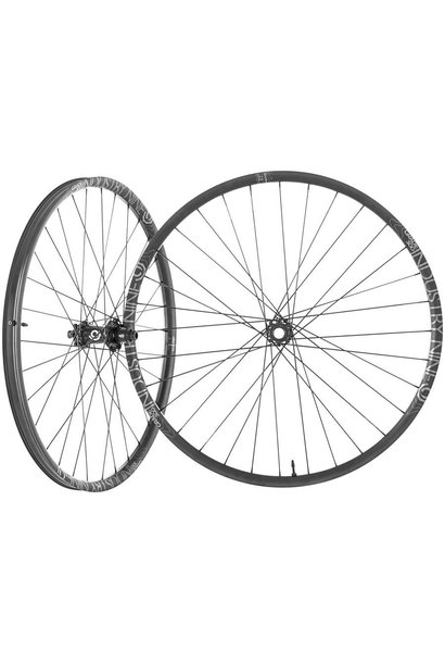I9 Enduro S Wheelset 27.5 1/1 Black Boost HG 6 bolt
