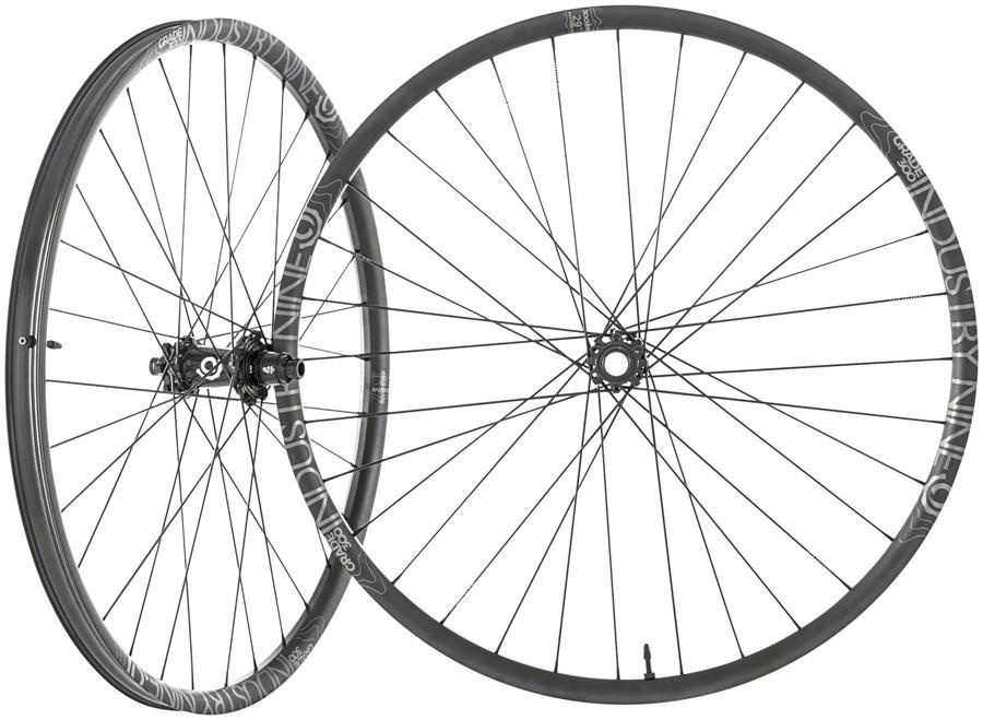 I9 Enduro S Wheelset 27.5 1/1 Black Boost HG 6 bolt-1