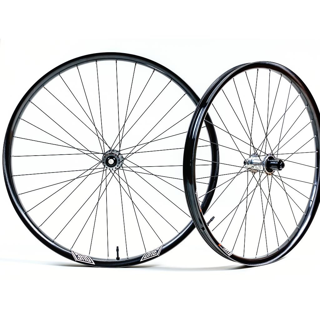 "We Are One Revolution Wheelset Union 29"" I9 1/1 Superboost Microspline 6b Sapim Race Black-1"