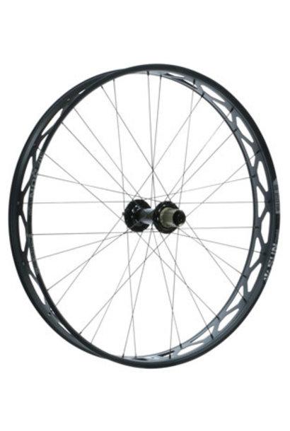 "Sun Ringle Mulefut 80SL V2 Rear Wheel - 26"" Fat, 12 x 197mm, 6-Bolt, HG 11, Black"