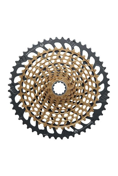 SRAM XX1 Eagle, Cassette, 12spd, 10-52T, Gold