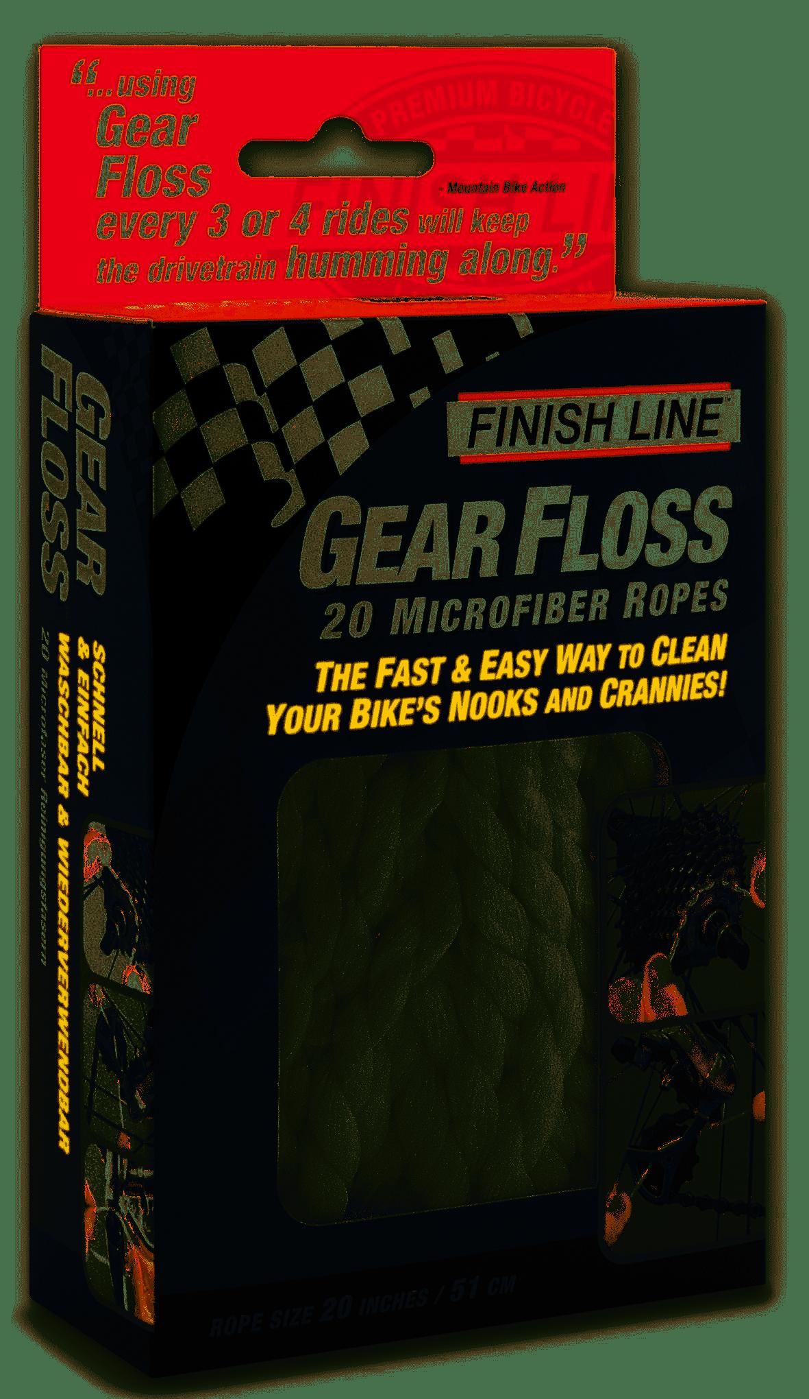 Finish Line Gear Floss (20/PKG)-1