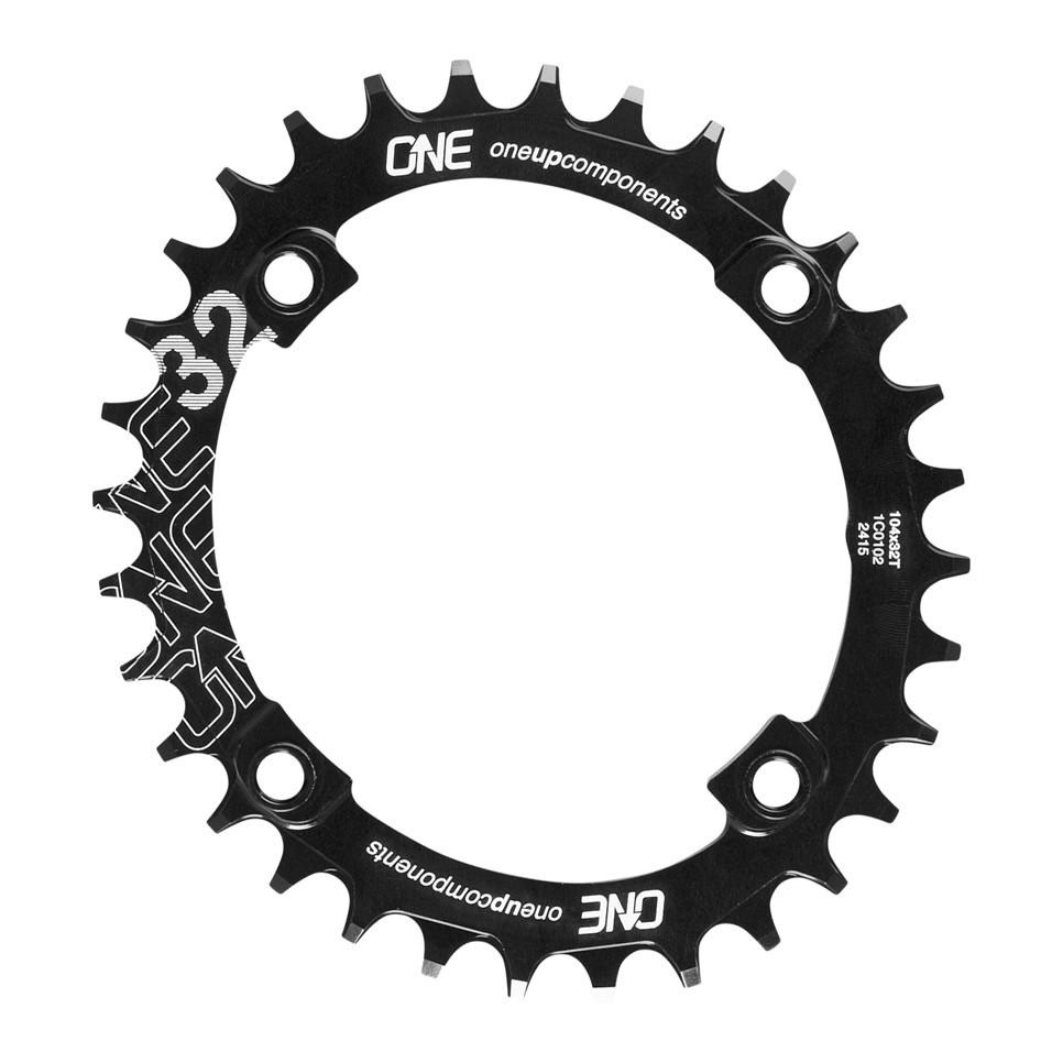 OneUp Components Traction Narrow-Wide Chainring 104 BCD-1