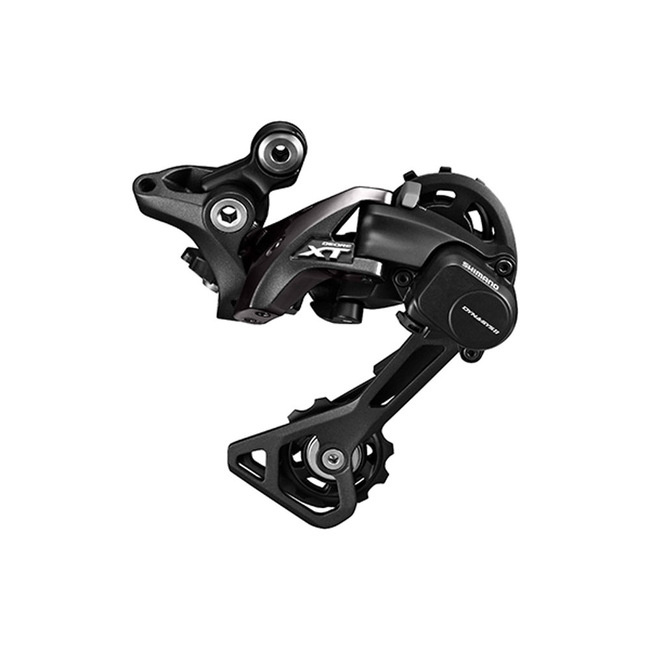 Shimano Rear Derailleur, RD-M8000, Deore XT, GS 11-Speed, For 1X11/2X11,  Top-Normal Shadow Plus , Direct Attachment (Direct Mount Compatible )-1