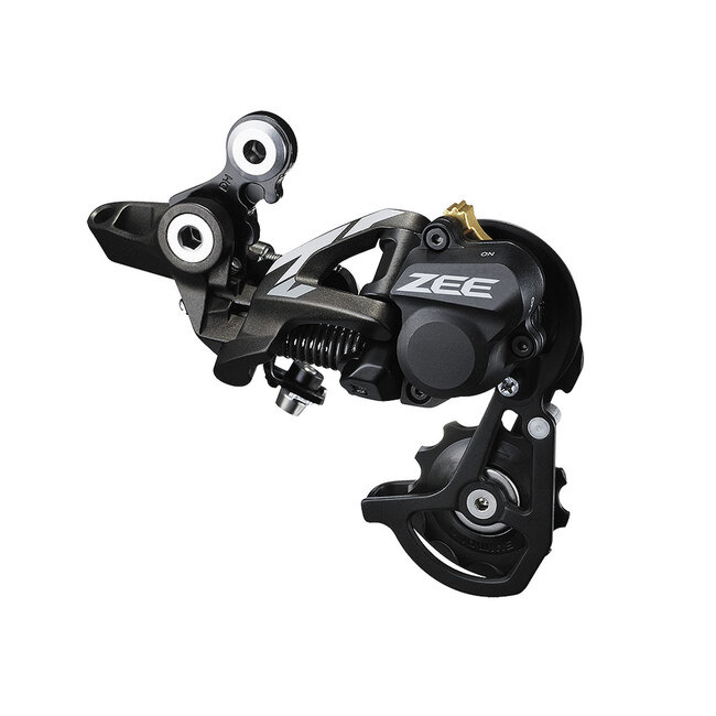 Shimano RD-M640 ZEE Direct Mount DH SS Rear Derailleur Shadow+ For 11-23/11-28T Ind.Pack-1