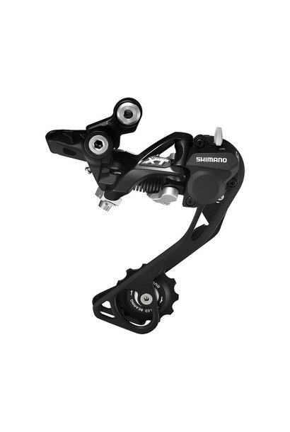 Shimano Rear Derailleur, RD-M786-SGS Deore XT, 10-SPD, Shadow+, Black