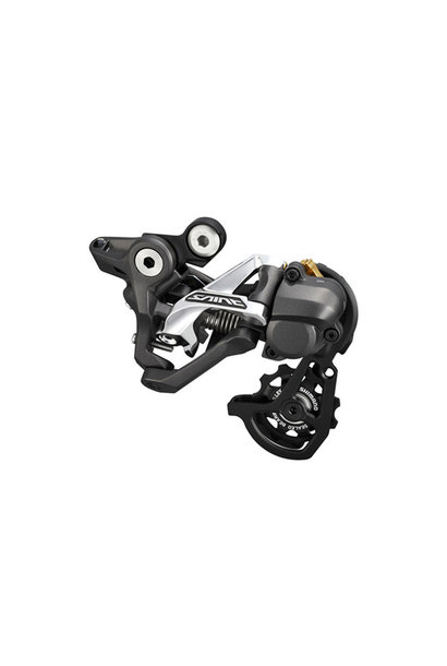 Shimano Rear Derailleur, RD-M820, Saint, SS,10- Speed Top-Nomal, Shadow Plus Design, Direct Attachment ,For DH,11-23/11-28T Setting, Mode Converter Same Pack, Ind.Pack