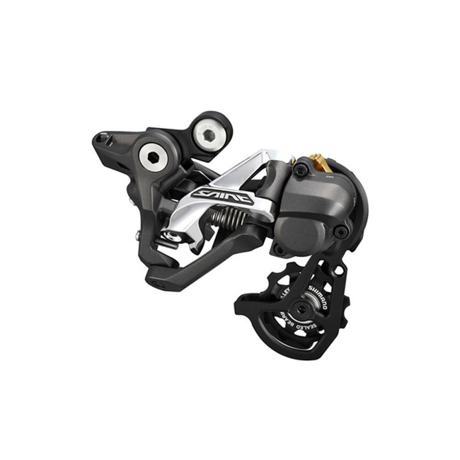 Shimano Rear Derailleur, RD-M820, Saint, SS,10- Speed Top-Nomal, Shadow Plus Design, Direct Attachment ,For DH,11-23/11-28T Setting, Mode Converter Same Pack, Ind.Pack-1