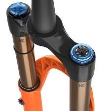 "Fox 2021 38 K FLOAT 29"" F-S 180 Grip2 HSC LSC HSR LSR Shiny Orange 15x110 44mm Rake-2"