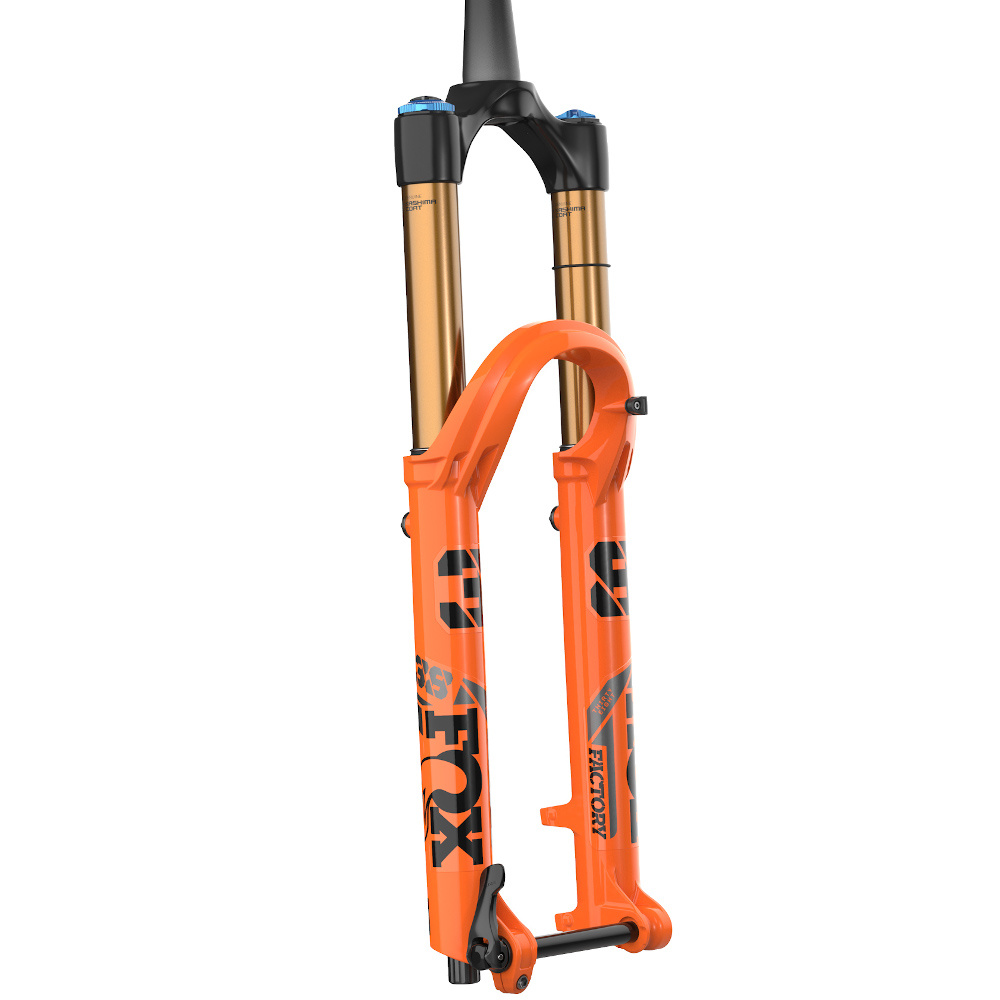 "Fox 2021 38 K FLOAT 29"" F-S 180 Grip2 HSC LSC HSR LSR Shiny Orange 15x110 44mm Rake-1"