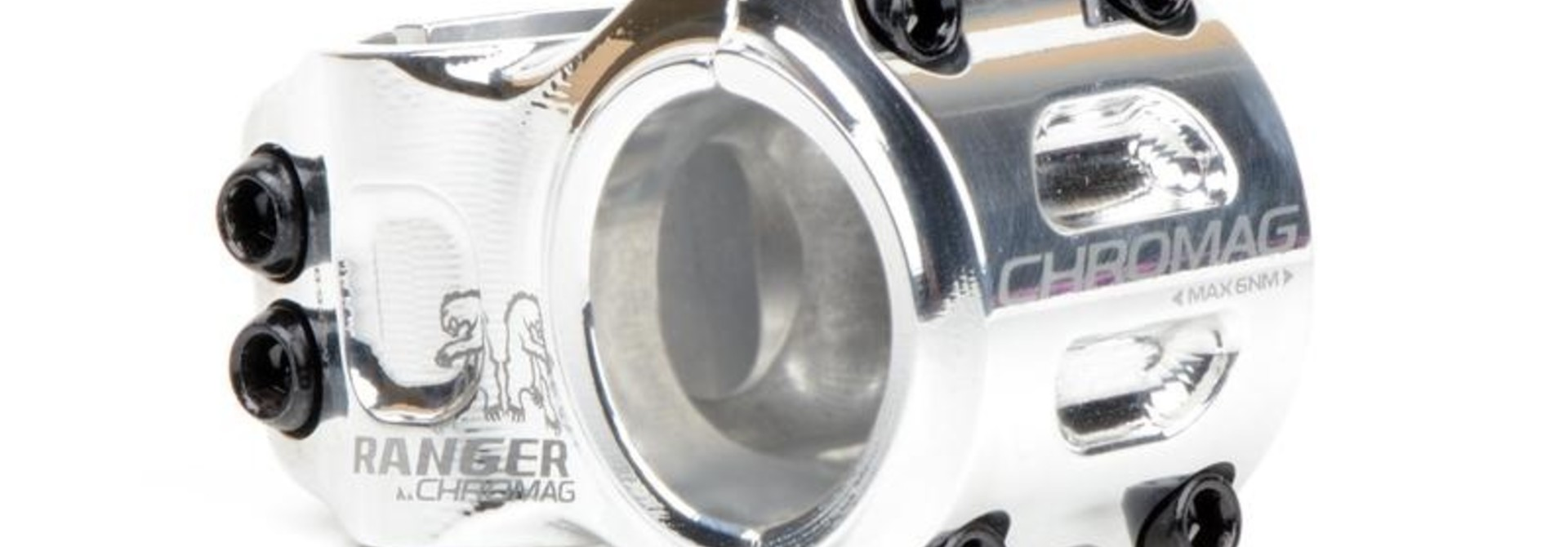 Chromag Stems Ranger V2 40mm silver 31.8mm all mountain stem