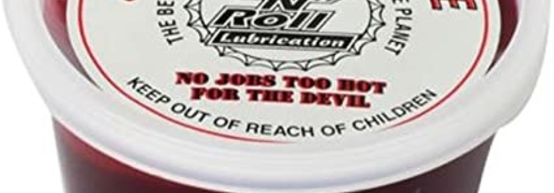 Rock N Roll Lubes Grease Red Devil 16oz.