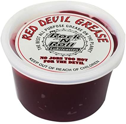Rock N Roll Lubes Grease Red Devil 16oz.-1