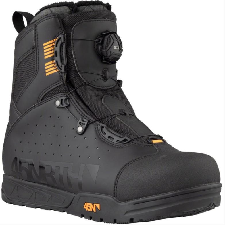 45NRTH Wolvhammer BOA Boot Black-1