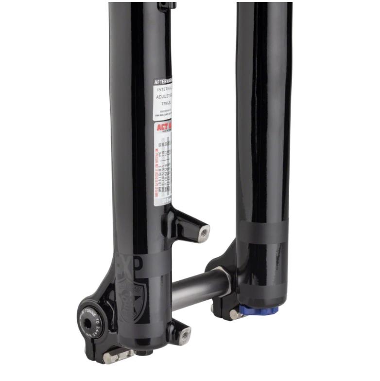 "2021 Manitou Circus Expert Fork - 26"", 100 mm, 20 x 110 mm, 41 mm Offset, Gloss Black, Straight Steerer-3"