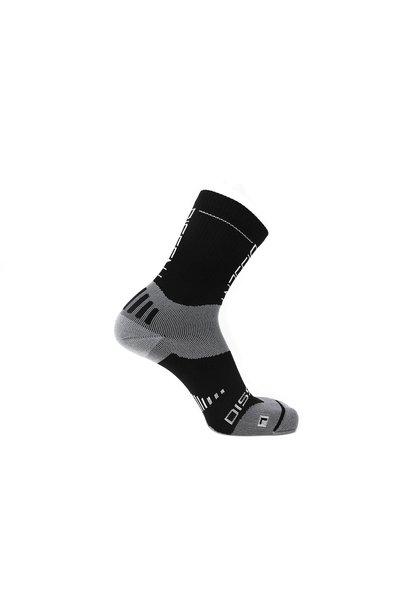 "Dissent, Supercrew Nan 6"", Cmpressin socks, Black"