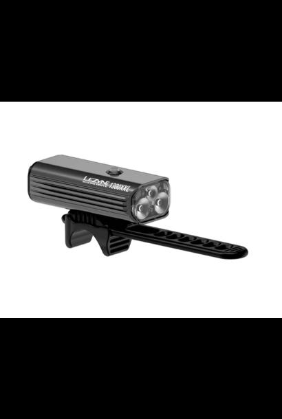 Lezyne Macro Drive 1300XXL Light - Front Matt Black