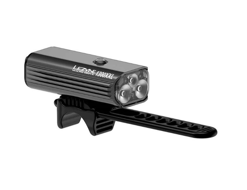 Lezyne, Macro Drive 1300XXL, Light, Front, Matt Black-1