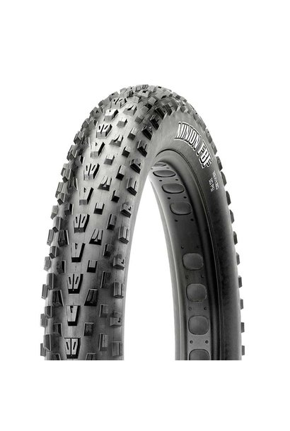 "Maxxis Minion FBF Tire 26""x4.80 EXO Dual TR 120Tpi Black"