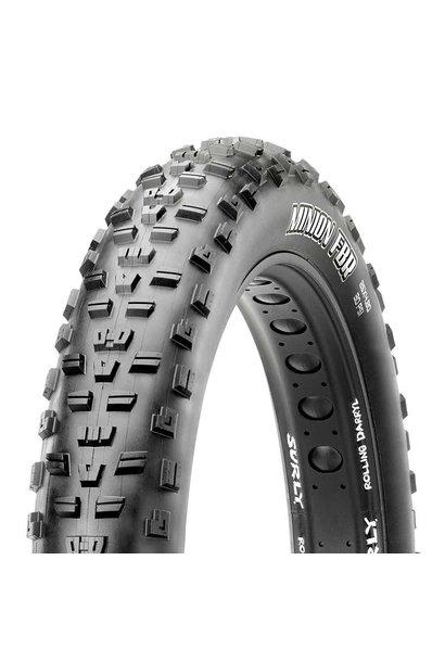 Maxxis Minion FBR Tire 27.5''x3.80 EXO Dual TR 120Tpi Black