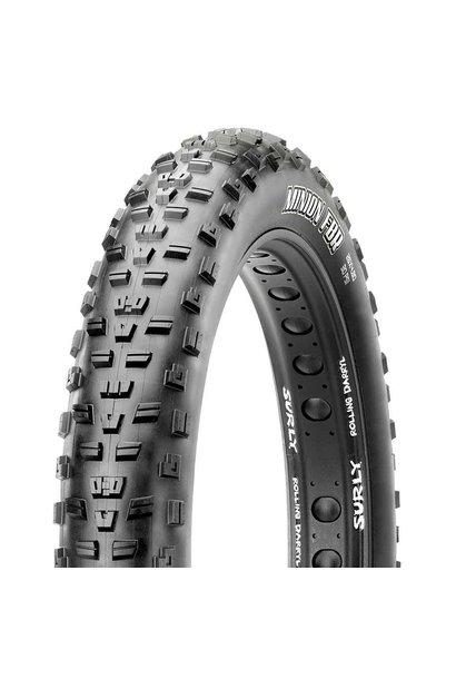 "Maxxis Minion FBR Tire 26""x4.80 EXO Dual TR 120Tpi Black"