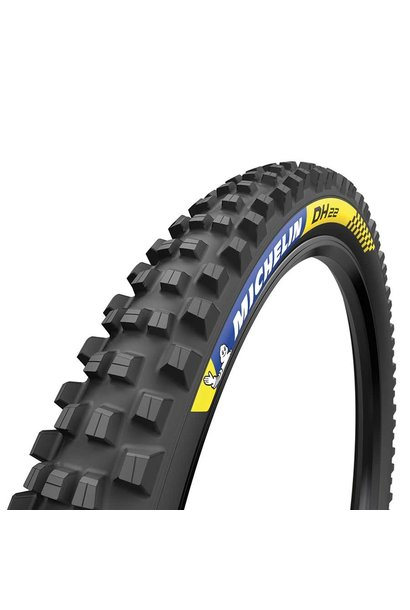 Michelin, DH22, Tire, 27.5''x2.40, Wire, Tubeless Ready, MAGI-X, Downhill Shield, 2x55TPI, Black