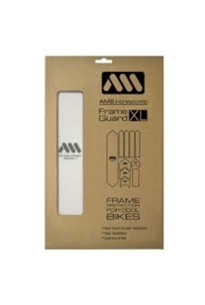 All Mountain Style FRAME GUARD CLEAR/SILVER XL