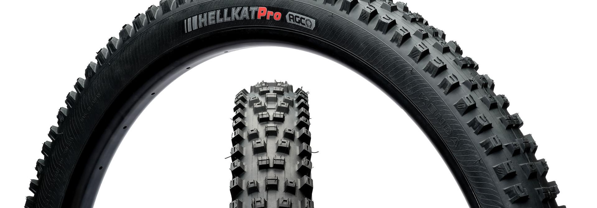Kenda, Hellkat, Tire, 29''x2.40, Folding, Tubeless Ready, EN-ATC, 120TPI, Black